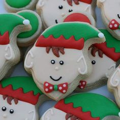 Elf cookies from a ghost cutter! Fantastic!