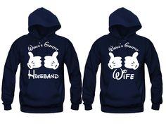 World's Greatest Husband - World's Greatest Wife Unisex Couple Matching Hoodies