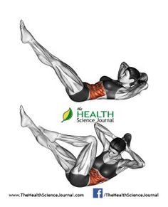 © Sasham | Dreamstime.com - Fitness exercising. Twisting body like bicycle. Female