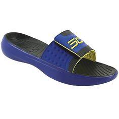 5835d9c0930bc Under Armour Curry 2 Sl Slide Sandals - Mens Blue Mens Slide Sandals