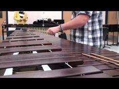 Fastest Flight of the Bumblebee on Marimba