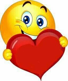by Florynda del Sol ღ☀¨✿ ¸.ღ emoji heart Animated Smiley Faces, Funny Emoji Faces, Animated Emoticons, Emoticon Faces, Funny Emoticons, Smileys, Cute Smiley Face, Love Smiley, Emoji Love