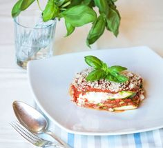 Lasagna crudista - Granosalis - blog di cucina naturale e consapevole