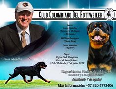 Good luck everyone at the show & have fun at the Anton Toni Spindler seminar! Thanks Benito Polanco Alvarado for offering to take pictures from the show and seminar to send to the magazine. If you would like your & your dog's picture in the fall magazine, please ask Benito to get a picture of you and your dog. This event will be in the fall magazine.