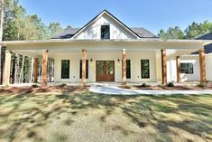 Ranch House Plans, New House Plans, Building Plans, Building A House, Barn House Design, Home Building Companies, River House, Metal Buildings, Metal Homes