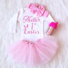 First Easter Onesie Easter Onesie My First by KennedyClairesCloset
