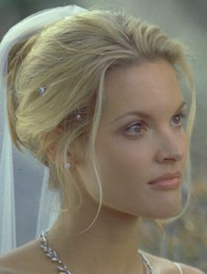 Bridgette Wilson 54 kg cm Wedding Hair And Makeup, Wedding Beauty, Bridal Hair, Hair Makeup, Wedding Planner Film, Wedding Planning Guide, 54 Kg, Bride Hairstyles, Trendy Wedding