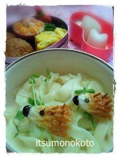 Hedgehog  udon noodle