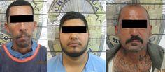Chihuahua, Chih.- En flagrancia y en hechos distintos, fueron arrestados el fin de semana por elementos municipales, tres presuntos ladrones de auto partes