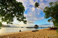 ORA beach, Sawai Maluku, INDONESIA