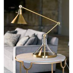 Glass Funnel Beaker Task Lamp | Regina Andrew Detroit