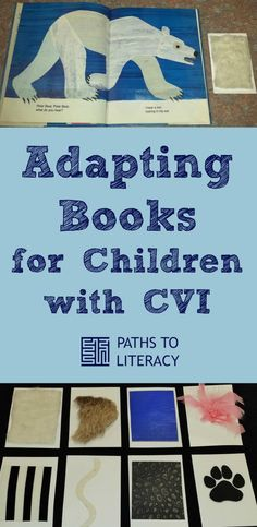"Adapting ""Polar Bear"" book for children with CVI (cortical visual impairment)"