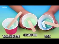 How to make fluffy slime with shaving cream no borax or liquid slime test can you really make diy slime with toothpaste shampoo tide ccuart Images