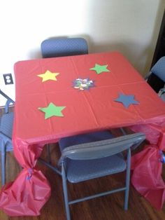 Mickey mouse clubhouse birthday party table for kids