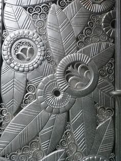 Art deco zentangle by LoriMoonStudio, via Flickr