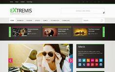 Extremis Blogger Template é um template blogger com layout responsivo, simples e limpo, perfeito para uma variedade de propósitos. Extremis é um tema ideal para blog de noticias, revista, entretenimento, tecnologia e muito mais. Com design moderno e elegante, este é um tema perfeito!