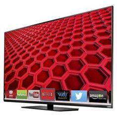 "VIZIO 55"" Class 1080p 120Hz LED Smart TV - Black (E550i-B2)"