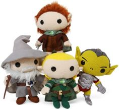 These plus the illustrated versions of the Hobbit and the LOTR, and little Liam will be all set!