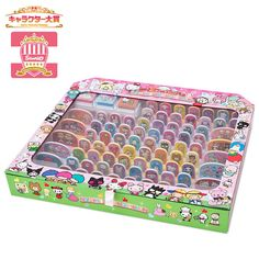 Sanrio collector stamps box
