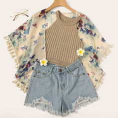 60 Super Ideas For Clothes Spring Teens Shoes trendy outfits Trendy Outfits For Teens, Teen Fashion Outfits, Cute Casual Outfits, Casual Dresses, Casual Shorts, Fashion Clothes, Teenage Outfits, Dress Fashion, Style Fashion