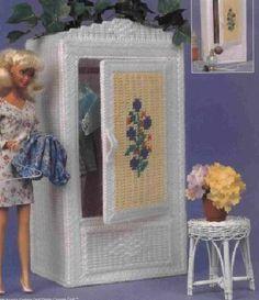 labores de esther. todo para barbie: armarios                              …
