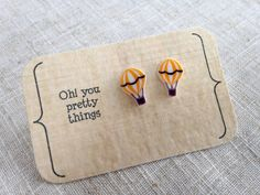 Hey, I found this really awesome Etsy listing at https://www.etsy.com/listing/454228562/hot-air-balloon-earrings-stud-earrings