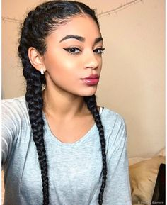 Looking for some beautiful Black Hairstyles for Short Hair ideas? Well we have gathered 5 New Black Hairstyles for Short Hair. These hairstyles are very much imitable because these are collected from the best collections and they are best of the bests. Black Hairstyles With Weave, All Hairstyles, Step By Step Hairstyles, Baddie Hairstyles, My Hairstyle, Braided Hairstyles, Hairstyles Pictures, African Hairstyles, Curly Hair Styles