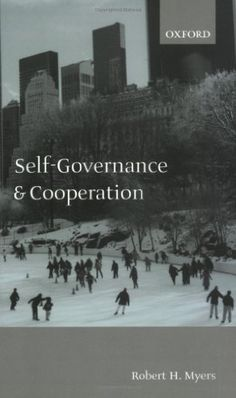 Self-Governance and Cooperation by Robert H. Myers, http://www.amazon.com/dp/0199256594/ref=cm_sw_r_pi_dp_YGgAqb0MKC439