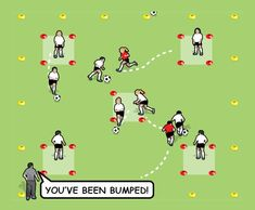 Bumper Cars drill for 5 to 8 year olds - part 3 Fun Soccer Games, Soccer Drills For Kids, Soccer Practice, Soccer Skills, Fun Games, Soccer Sports, Soccer Tips, Soccer Cleats, Youth Soccer