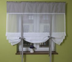 Kitchen Curtains Can Make a Difference in Your Home - Life ideas Diy Curtains, Curtains With Blinds, Kitchen Curtains, Valance Curtains, Dark Furniture, Colorful Furniture, Tiffany Blue Decorations, Blue Kitchen Designs, Blue Kitchen Cabinets