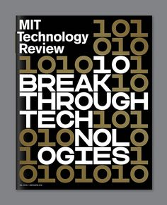 It's Nice That | Jessica Svendsen's striking designs for the spring issue of MIT Technology Review