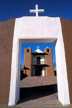 San Geronimo Chapel, Taos Pueblo, New Mexico; photo by Russ Bishop
