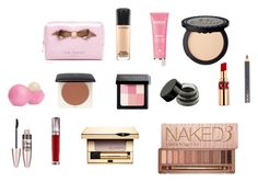 """""""whats in my makeup bag"""" by mary-462 on Polyvore"""