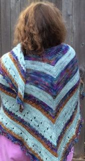PDF Knitting Pattern Download GILDED DRAGONFLY SHAWL is worked from the top…