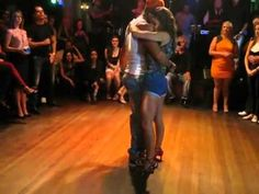 ▶ Latin Dance Central - Felix & Iris - Kizomba DEMO - Vivas NightClub 2013 - YouTube