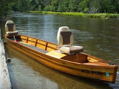 Ausable river boat build part 2 - The Michigan Sportsman Forums Canoe Camping, Canoe And Kayak, Kayak Fishing, Fishing Boats, Fishing Trips, Wooden Canoe, Wooden Boat Building, Plywood Boat, Wood Boats