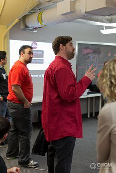 Hello Matthew Fabb!     DevTO #21 - February 25, 2013 by Chow Productions Inc., via Flickr