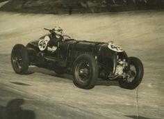 Tim Birkin in the Blower Bentley