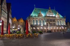 Bremen, Germany.  http://www.worldheritagesite.org/sites/townhallbremen.html