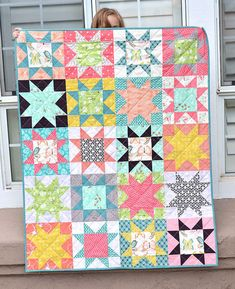 Great star quilt!