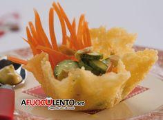 CESTINI DI PARMIGIANO RIPIENI  #antipasto #parmigiano #natale #italianfood #italianrecipe #ricetta