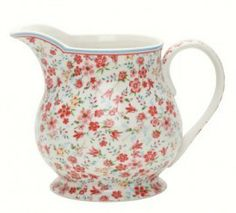 Image detail for -GreenGate Stoneware Pitcher Sophia White H 14,5 cm review | buy, shop ...