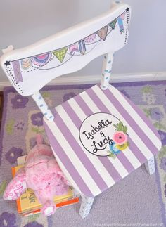 Rhonna Designs Inspired Painted Chair from One Project Closer