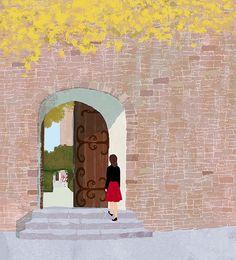 大人のファンタジー読本 #illustration #illustrator #tatsurokiuchi #art #drawing #life #lifestyle #happy #japan #people #木内達朗 #イラスト #イラストレーション