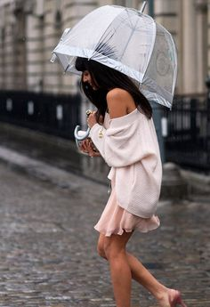 Adorable.  ...although not sure how adorable she'll stay if it keeps raining!