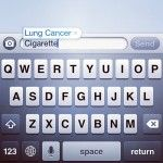 Autocorrect is Anti-Smoking. This is great!