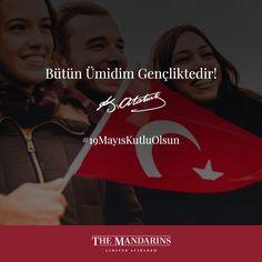 19 Mayıs Atatürk'ü Anma, Gençlik ve Spor Bayramı Kutlu olsun. #themandarinsacıbadem #19Mayıs #19MayısKutluOlsun #19Mayıs1919