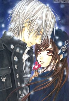 Vampire Knight Anime Zero & Yuki (beautiful even though I thought she fit better with Kaname)