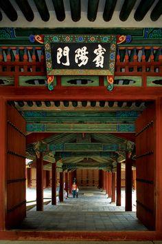 창경궁 빈양문 Korean Traditional, Traditional House, Korean Flag, China Architecture, Pale Blue Dot, South Korea Seoul, Permaculture Design, Dark Photography, Old Building