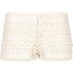 RALPH LAUREN DENIM & SUPPLY lace short